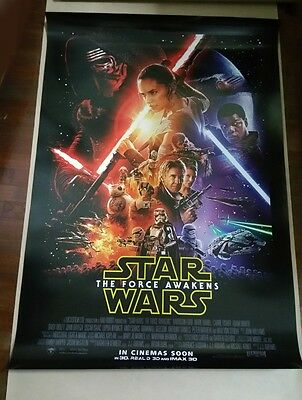 Star Wars THE FORCE AWAKENS 2015 Orig 27x40 DS Intl Movie Poster A