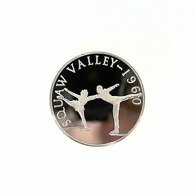 1960 Squaw Valley Olympic Silver Coin