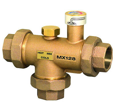 "Honeywell 1-1/4"" NPT MX Mixing Valve (110-150°) MX128"