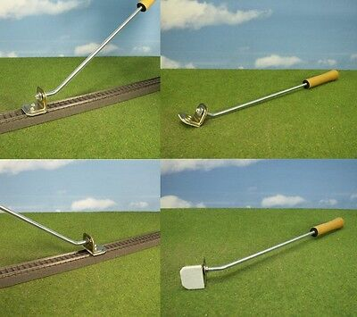 Track cleaner Rail cleaner with handle for Cleaning by Rails Tracks