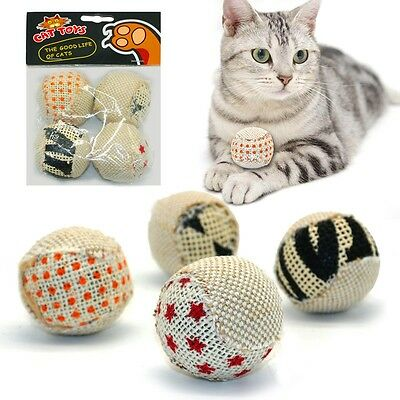 4pcs/pack Cat assorted ball Toy by Interactive Designs