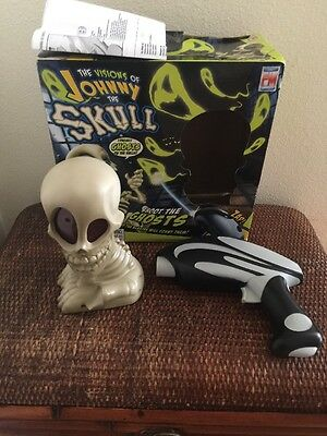 The Visions Of JOHNNY THE SKULL Electronic Blaster Game Shoot the Ghosts 6+ ages