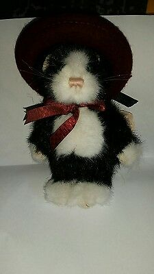 Boyds Bears Phoebe Purrsmore Bean Filled Cat