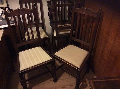 six dining chairs perfect for upcycling
