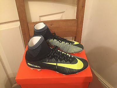 Brand New Nike Mercurial Superfly V CR7 SG-PRO Football Boots UK8