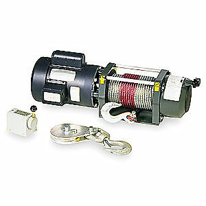 DAYTON Electric Winch,1HP,115VAC, 4ZY95