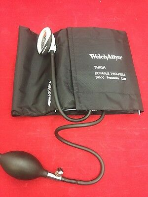 NEW WELCH ALLYN Durashock Thigh 2 Piece Sphygmomanometer Cuff Set DS45-13CB