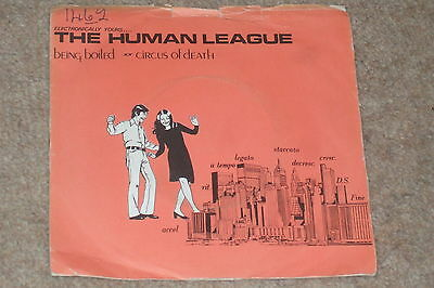 "The Human League ‎– Being Boiled / Circus Of Death 7""   1978   SYNTH!!"