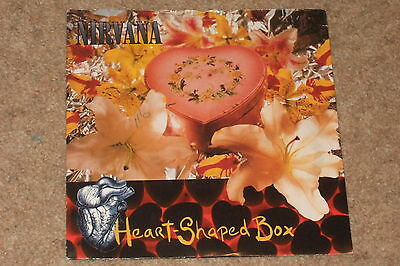 "Nirvana ‎– Heart-Shaped Box 7""        1993   GRUNGE ROCK!!"