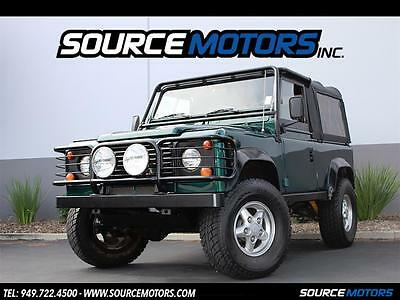 1997 Land Rover Defender Base Sport Utility 2-Door 1997 Land Rover Defender 90 ST NAS, Automatic, New Stereo, British Racing Green