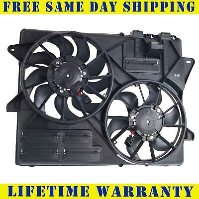Radiator And Condenser Fan For Ford Mustang  FO3115120