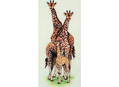Anchor - Counted Cross Stitch Kit - Giraffe Family - PCE740