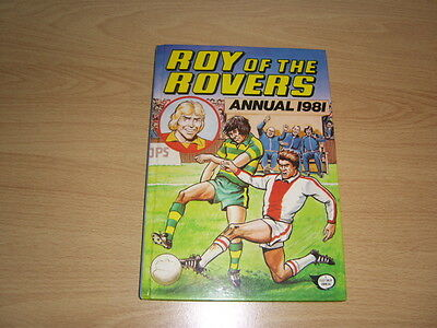 roy of the rovers football annual, 1981.