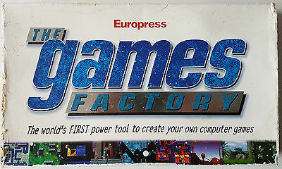 The games factory - Europress - 1996 - Vintage computing - Software