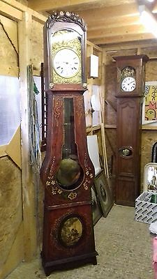 French Comtoise Longcase Clock, grandfather clock