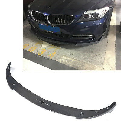 Carbon Fiber Front Bumper Chin Lip spoiler Fit for BMW Z4 E89 Z series 2009-2013