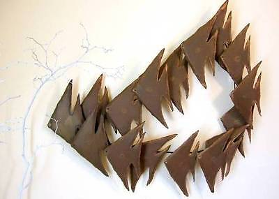 Eames Era Curtis Jere Style Brutalist Torch Cut Wall Sculpture **SALE**