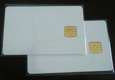 Quality Sle4428 Contact Ic Smart Chip Card 4428 Pvc Blank White 50Pcs Uk London