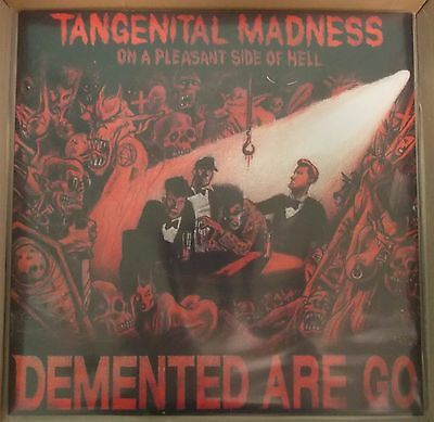 DEMENTED ARE GO - Tangenital Madness BLACK VINYL LP (NEW) PSYCHOBILLY Reissue
