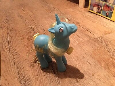 Vintage 1984 My Little Pony With Spinning Tail