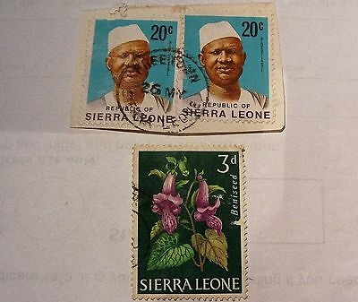 Old Sierra Leone Stamps