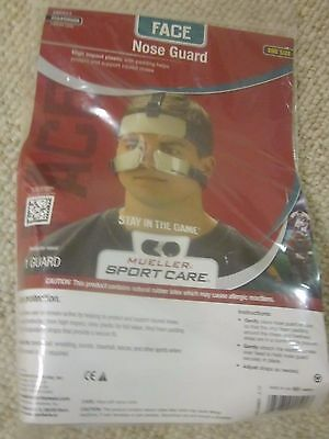 Mueller 140501 Nose Guard Protector Face Shield Adjustable NIP $50