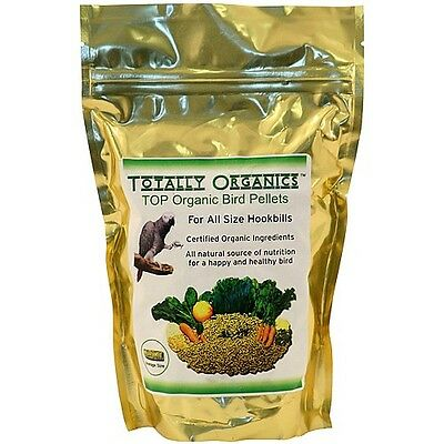TOTALLY ORGANICS TOP ORGANIC BIRD PELLETS FOR MEDIUM TO LARGE PARROTS - 453g