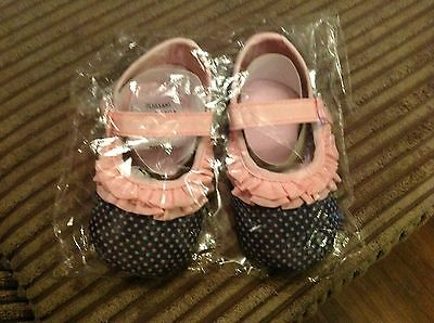 Baby girl shoes, 12-18 months, brand new
