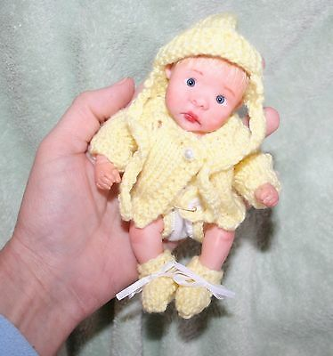 OOAK Polymer Clay Baby Girl Jointed by Marlo Elswick