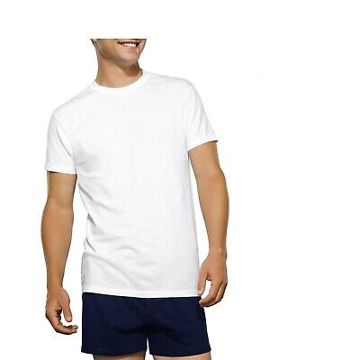 Fruit of the Loom Men's White Crew T-Shirt