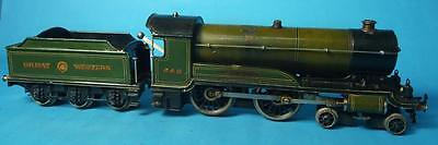 Rare Bing O gauge GWR  'Greater Britain' live steam locomotive and tender
