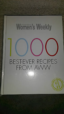 1000 Best-ever Recipes from AWW by Australian Women's Weekly MELBOURNE Pick up