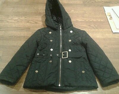 Girls Quilted Coat age 5-6