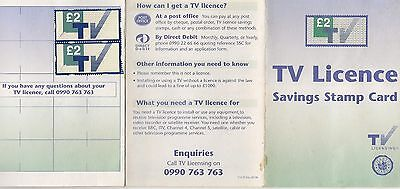 ***** £22 Pounds Of Un Used Tv Licence Stamps ***