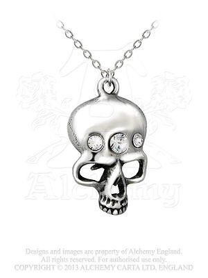 Alchemy Gothic The Demon in my Head Pendant/Necklace Reversable