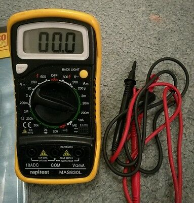 Rapitest multimeter
