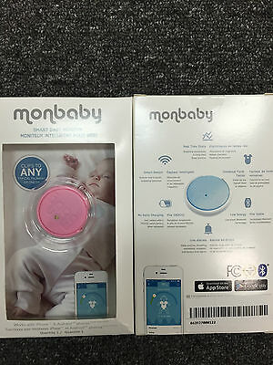 MonDevices MonBaby Smart Button Baby Monitor - Pink