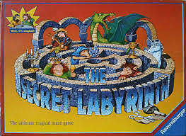 secret labyrinth board game , new and sealed