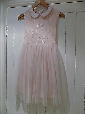 Next girls evening - occasion - party dress size 7-8 years 8y WORN ONCE **