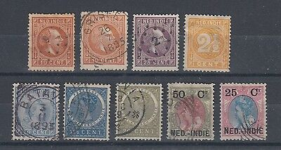 Netherlands Indies Selection Used Hinged No Gum (#361)