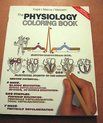 The Physiology Colouring Book Medic Physio Nurse Student Textbook Paperback