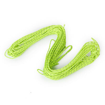 2Pc 20M Reflective Guyline Tent Rope Guy Line Camping Cord Paracord String
