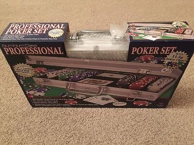 Professional Poker Set 300pcs 11.5g Chips with Carry Case & Extras. Coventry.