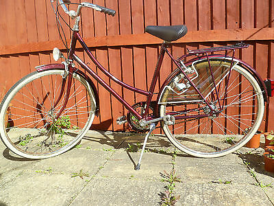 Ladies Raleigh City Road Bike Very Good Condition