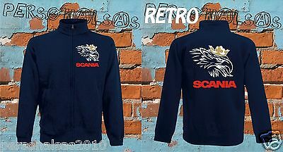 SCANIA jacket sweat jacket logo tuning truck pull truck sport holland style