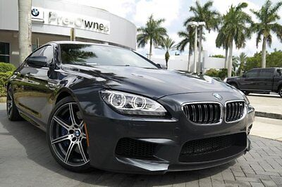 2014 BMW M6 Full Merino Leather 2014 BMW M6 GRAN COUPE competition executive 1 owner clean carfax florida car