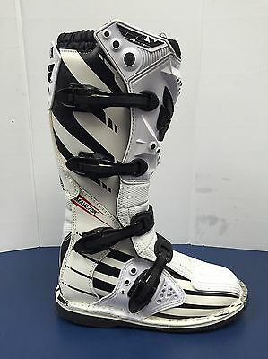 Fly Racing F4 Maverick MX/Motocross Boot 2015 White/Black