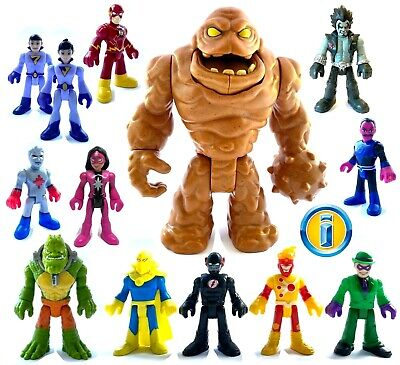IMAGINEXT DC Super Friends Heroes & Villains Figures. New Loose *Please Select*