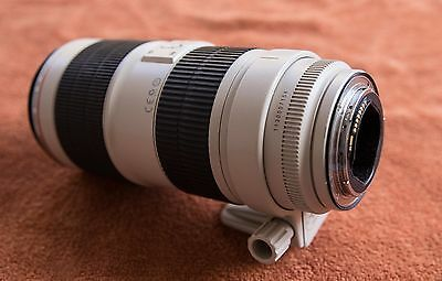 CANON EF L IS USM II 70-200 mm f/2,8 + filtra ant-iUV
