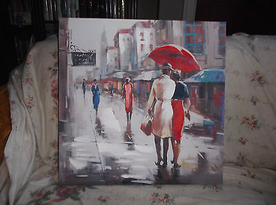 Beautiful Hand Painted Oil Painting  On Canvas 20inx20in